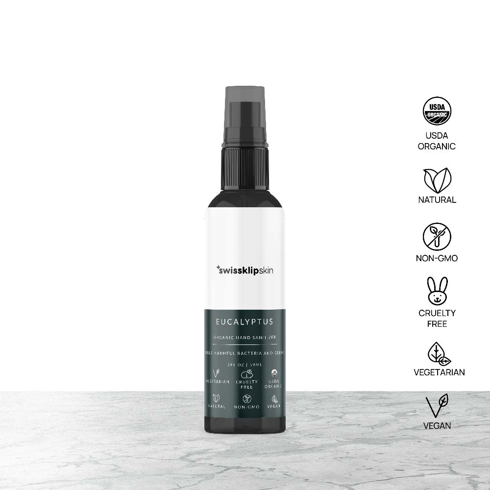 Swissklip Skin Organic Hand Sanitizer - Eucalytus