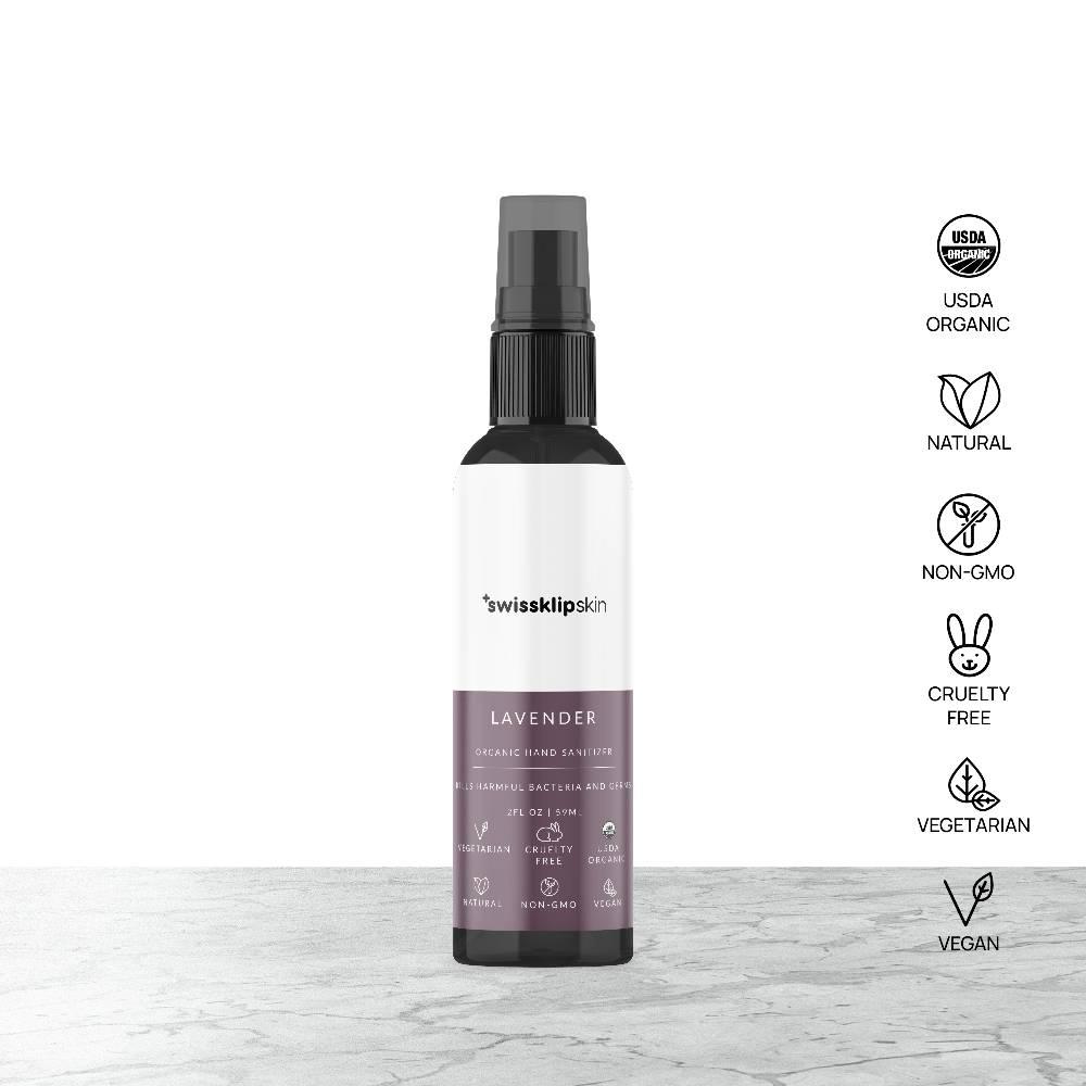 Swissklip Skin Organic Hand Sanitizer - Lavender