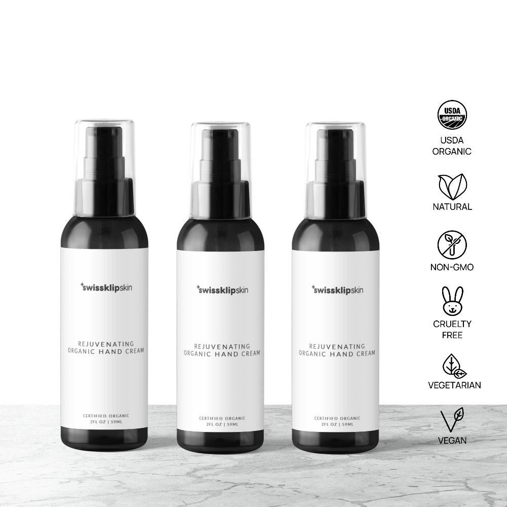 Swissklip Skin Organic Rejuvenating Hand Cream 3 Pack
